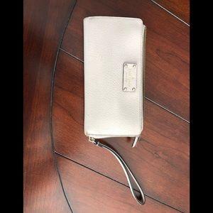 Late Spade wristlet wallet